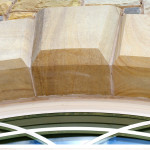Saw Cut, Chamfered And Polished Arch Stones