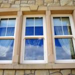 Brush Hammered Sandstone Window Surround