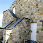 Limestone Wall Coping, Limestone Step And Self Supporting Flat Arches
