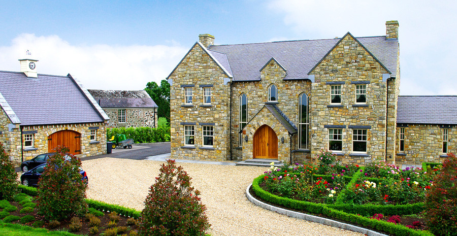 Coolestone stone masonry stone supply northern ireland tyrone for Modern house design northern ireland