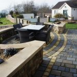 Hand Carved Made To Measure Donegal Sandstone Wall Copings