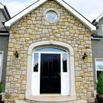 Sandstone Round Window Surround And Sandstone Door Surround