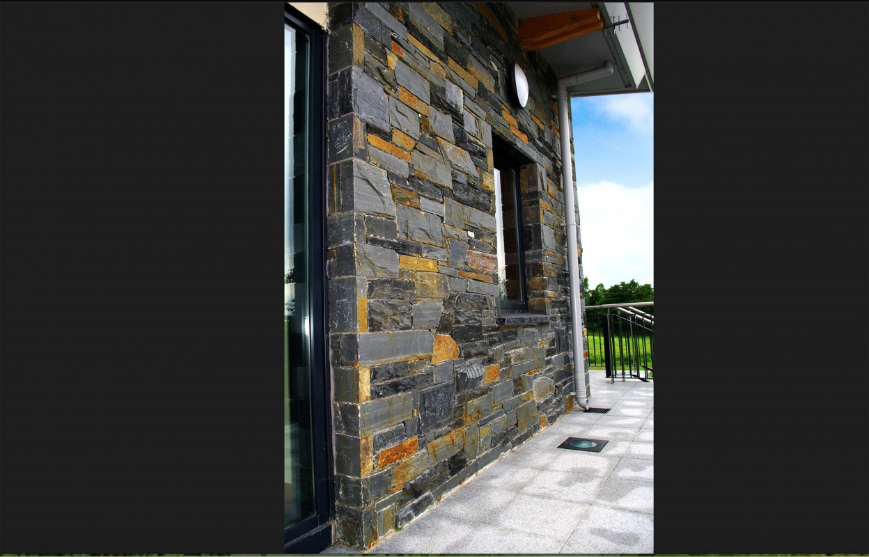 Donegal Slate With Handpicked Yellow Stones Chosen From