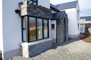 75% Portlaoise Stone & 25% Liscannor Stone With V Pointing