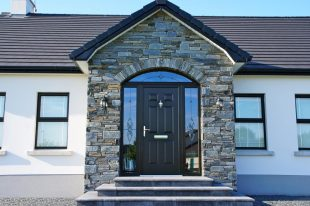 Donegal Slate With Arched Front Door