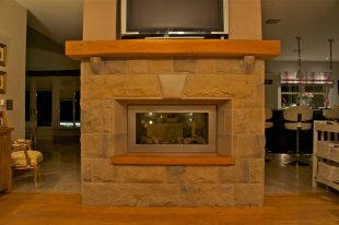 Reclaimed Sandstone With 3 Piece Self Supporting Flat Arch