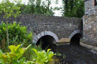 Basalt Bridge And Wing Wall