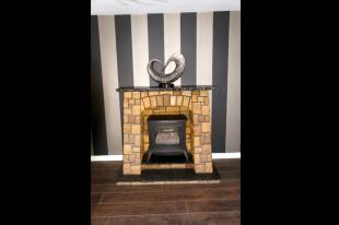 Scrabbo Sandstone Fireplace