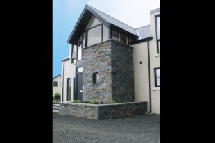 Donegal Slate Porch With Planter