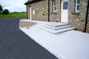 Grey Granite Paving And Kerbs
