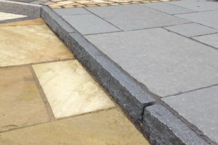Blue Granite Kerbs
