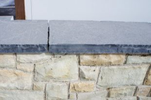 Black Limestone Wall Coping