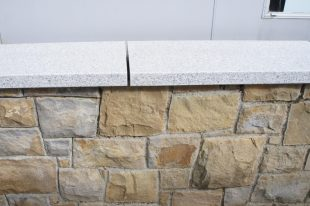 Silver Granite Wall Coping