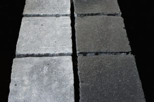 Tumbled Black Limestone Cobbles