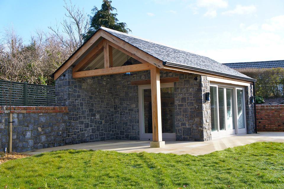 White Limestone sun house
