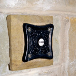 Donegal Sandstone Door Bell Holder