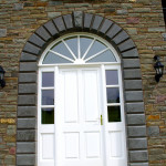 Cut And Polished Limestone Door Surround