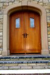 Brush Hammered Sandstone Door Surround