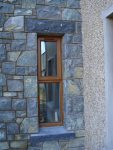 Rock Faced Limestone Cill And Lintel