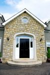 Sandstone Round Window Surround And Sandstone Door Surround