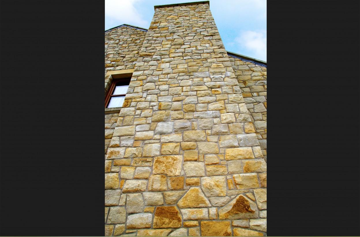 Donegal Sandstone chimney