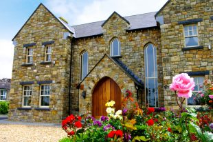 Reclaimed Leitrim Sandstone, Gothic Window & Door Arches