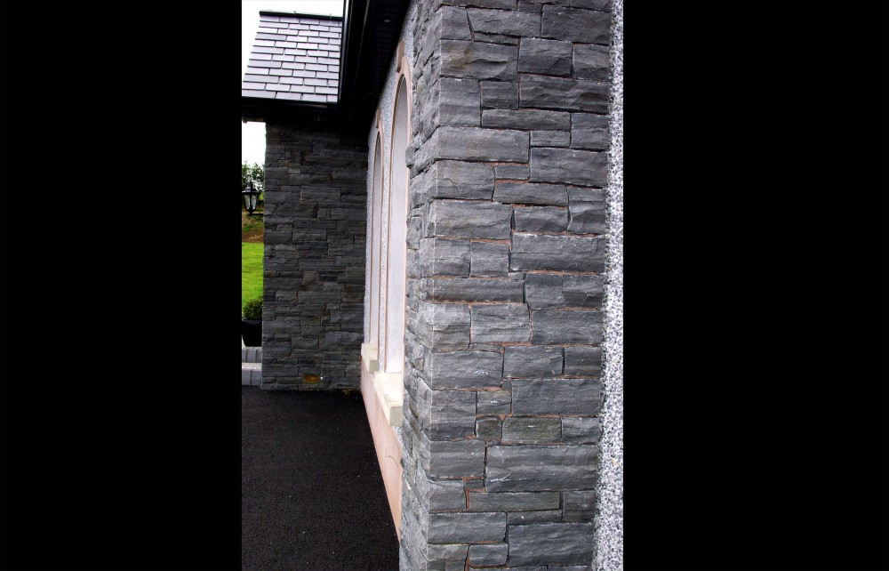 Liscannor stone quoin detail