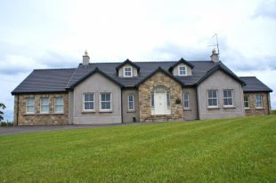 House Built With 70% Omagh Sandstone, 20% Donegal Sandstone & 10% Blue Centre Sandstone