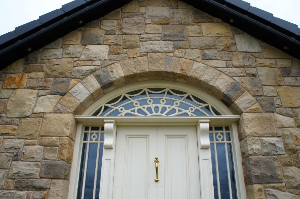 Free standing door arch