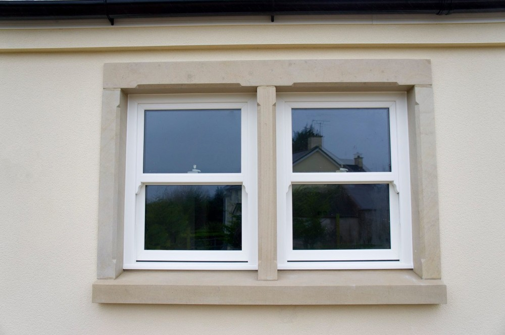 Donegal sandstone window surround
