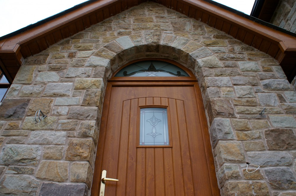 Freestanding door arch
