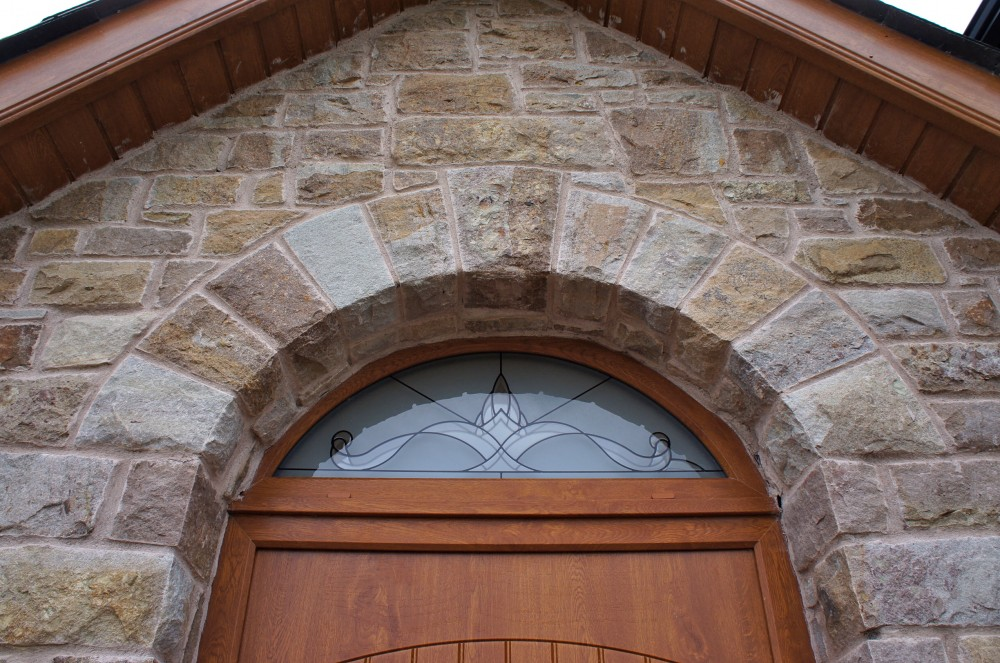 Freestanding door arch