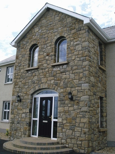 Donegal, Omagh and blue centred sandstone