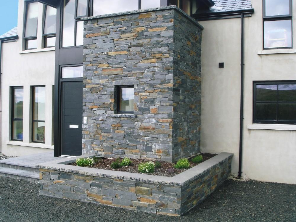 60mm black limestone wall copings