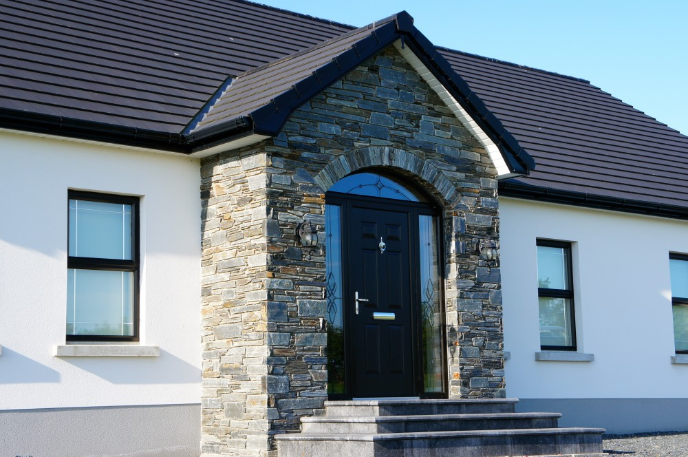 Donegal Slate porch.