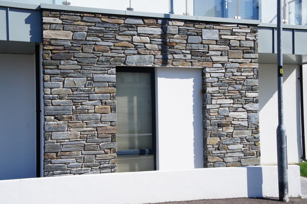 Donegal Slate built on keystone lintel