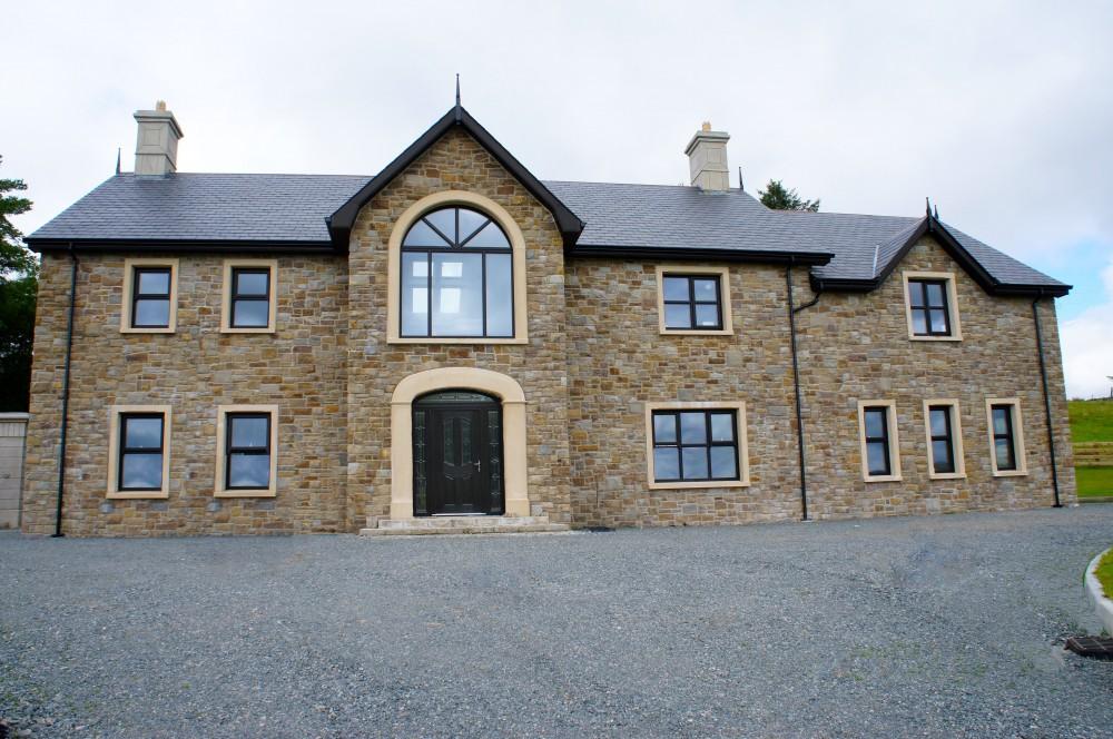 Tipperary brown sandstone with reconstituted sandstone door surround