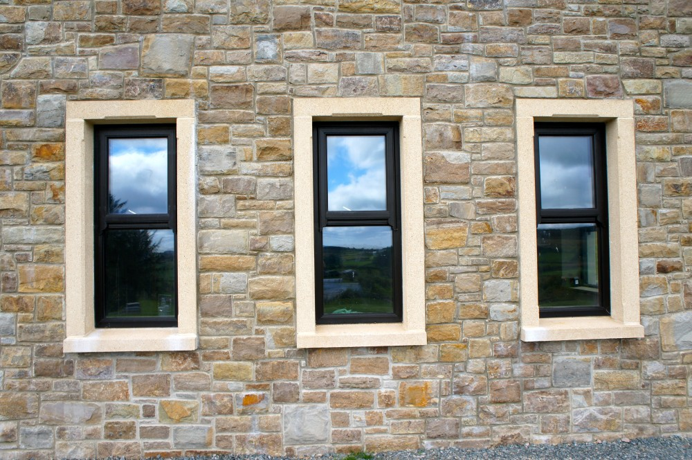 Tipperary Brown With Reconstituted Window And Door
