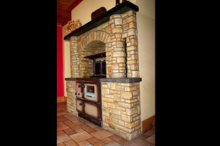 Donegal Quartzite With Liscannor Shelves And Mantle