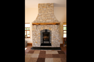 Donegal Quartzite With V Shaped Corbels Built From Stone