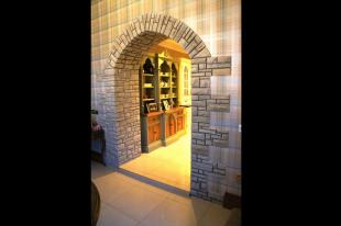 Grey Quartzite Interior Archway