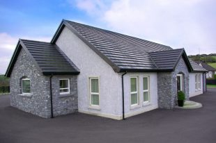 Front Porch And Outshots Built With Donegal Shale
