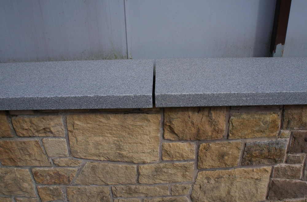 Blue Granite Wall Coping