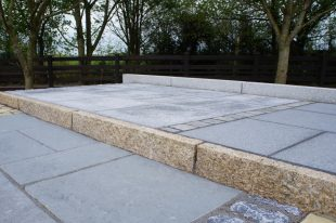 Gold Granite Kerbs 150 X 60
