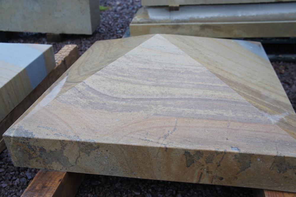 Donegal Sandstone pier cap