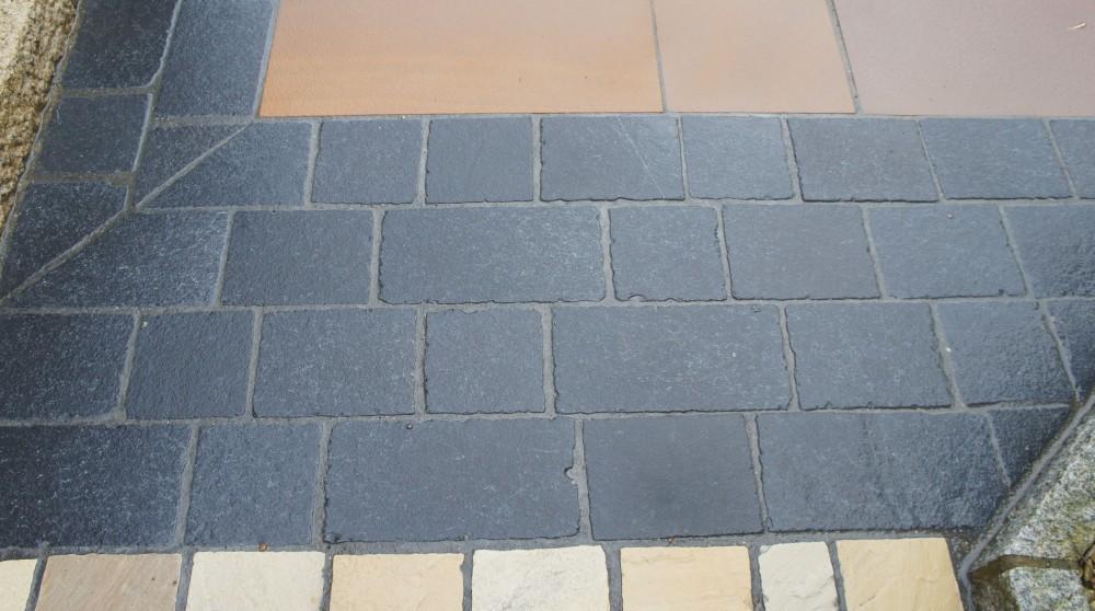 Black Limestone Tumbled Cobbles