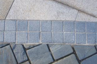Flamed Blue Granite Cobbles