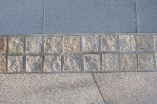 Gold Granite Cobbles Split