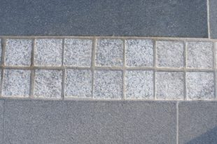 Silver Granite Cobbles Flamed