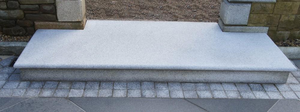 Silver Granite Step Landing
